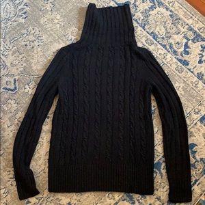 J. Crew Turtleneck Cableknit Sweater